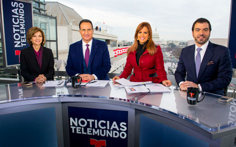 Balsera Communications founder Freddy Balsera serving as political analyst on Telemundo Networks.